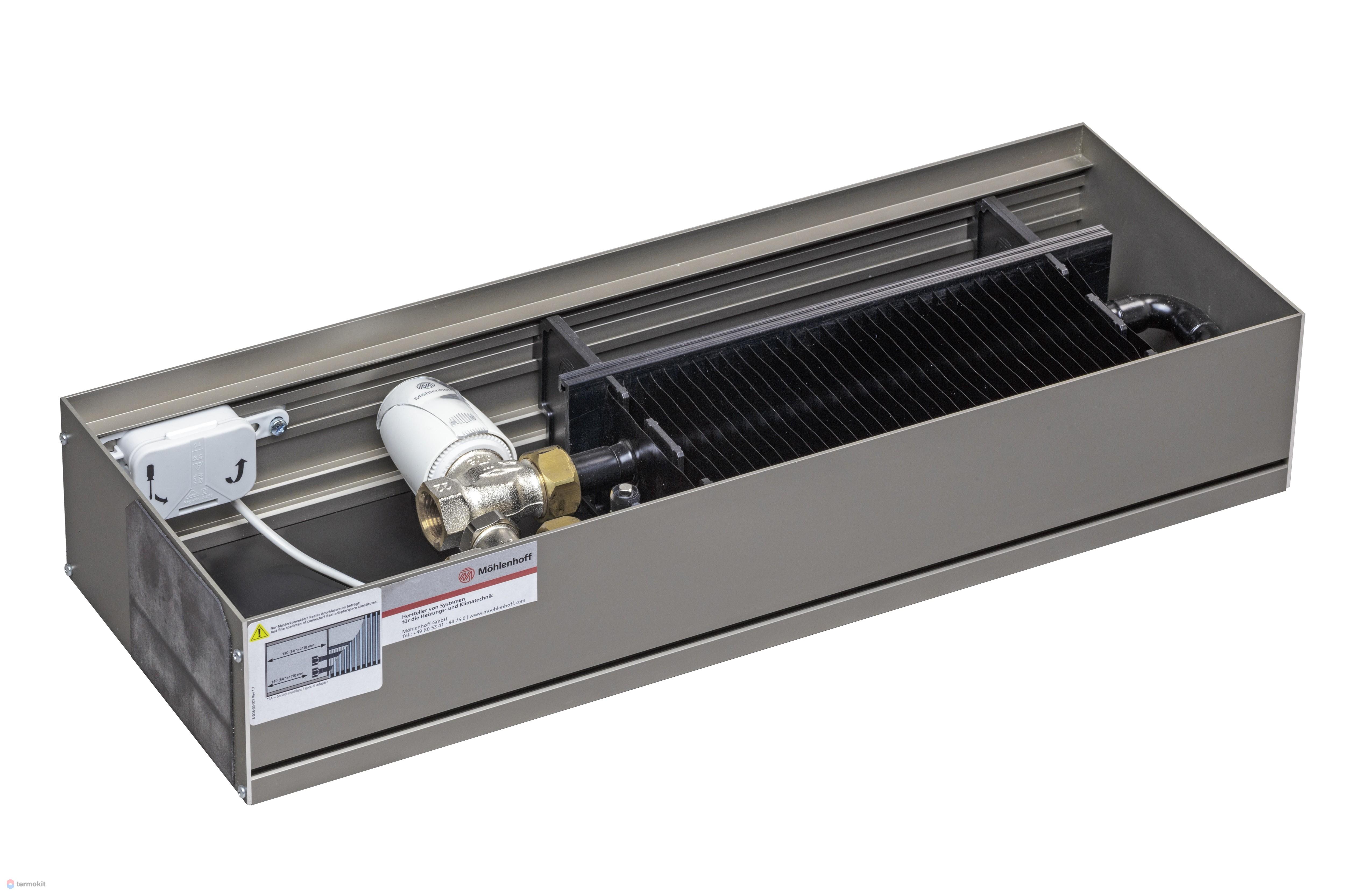 Конвектор mohlenhoff - лучшее отопление