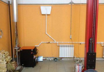 Отопление гаража своими руками: самые экономные обогреватели с высоким кпд