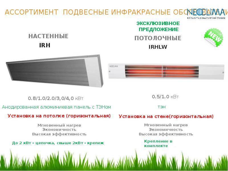 Как выбрать инфракрасный обогреватель — лучшие модели электрических ик обогревателей и особенности их применения (95 фото)