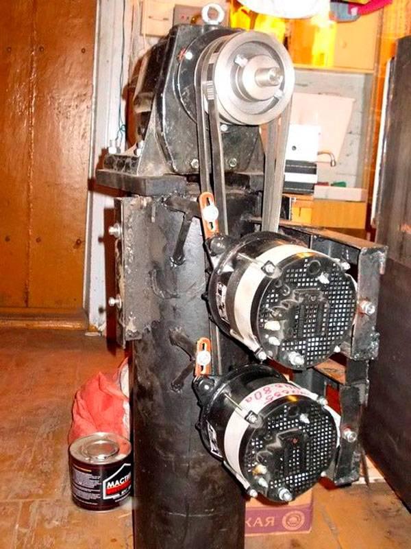 Ветрогенератор из автомобильного генератора своими руками - точка j