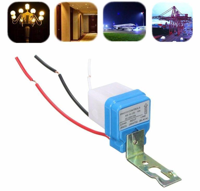 Уличные датчики освещенности для включения света - цена и схема подключения