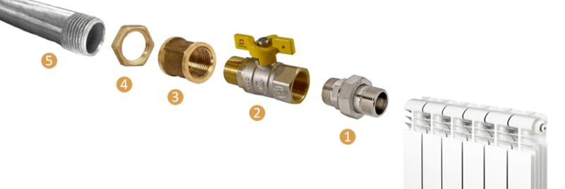 Трехходовой кран для отопления - принцип работы, подключение системы отопления