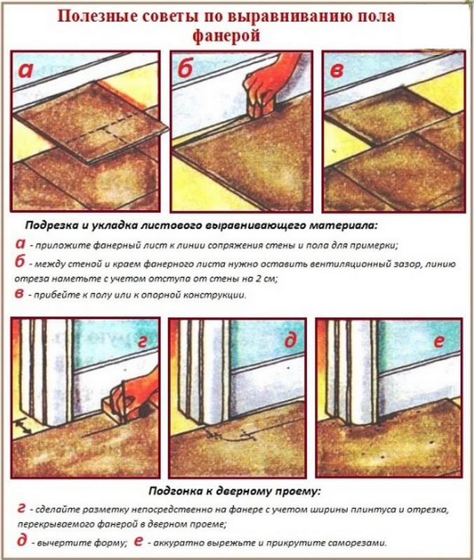 Выравнивание деревянного пола - пошаговая инструкция!