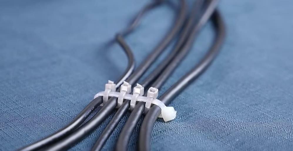 13 необычных способов применения кабельных стяжек
