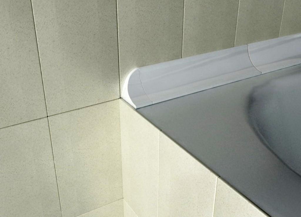 Как приклеить бордюр на ванну: разбор правил укладки + инструкция по установке