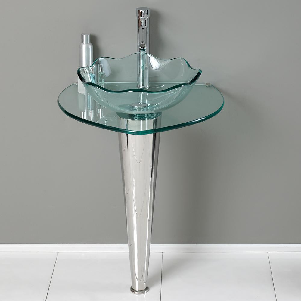 Обзор стеклянных моек и умывальников для ванной комнаты: характеристики
