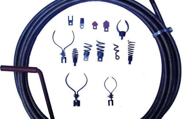 Сантехнический трос — как правильно выбрать трос и прочистить трубы и канализацию
