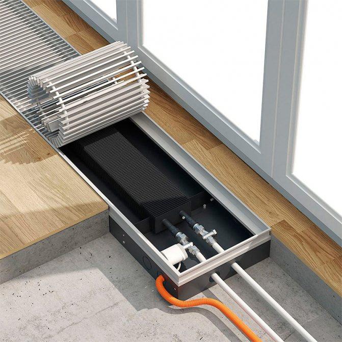 Принцип работы водяного конвектора отопления