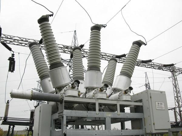 Элегазовые выключатели от 6кв