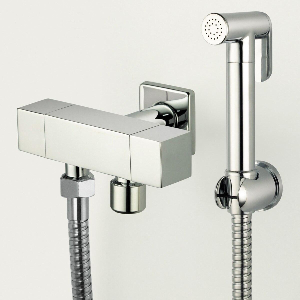 Гигиенический душ. монтаж смесителя с гигиеническим душем.