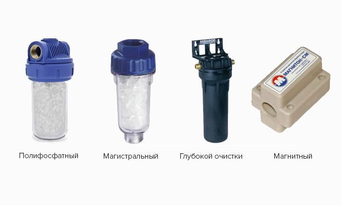 Фильтры для стиральной машины: какой вид выбрать и как установить