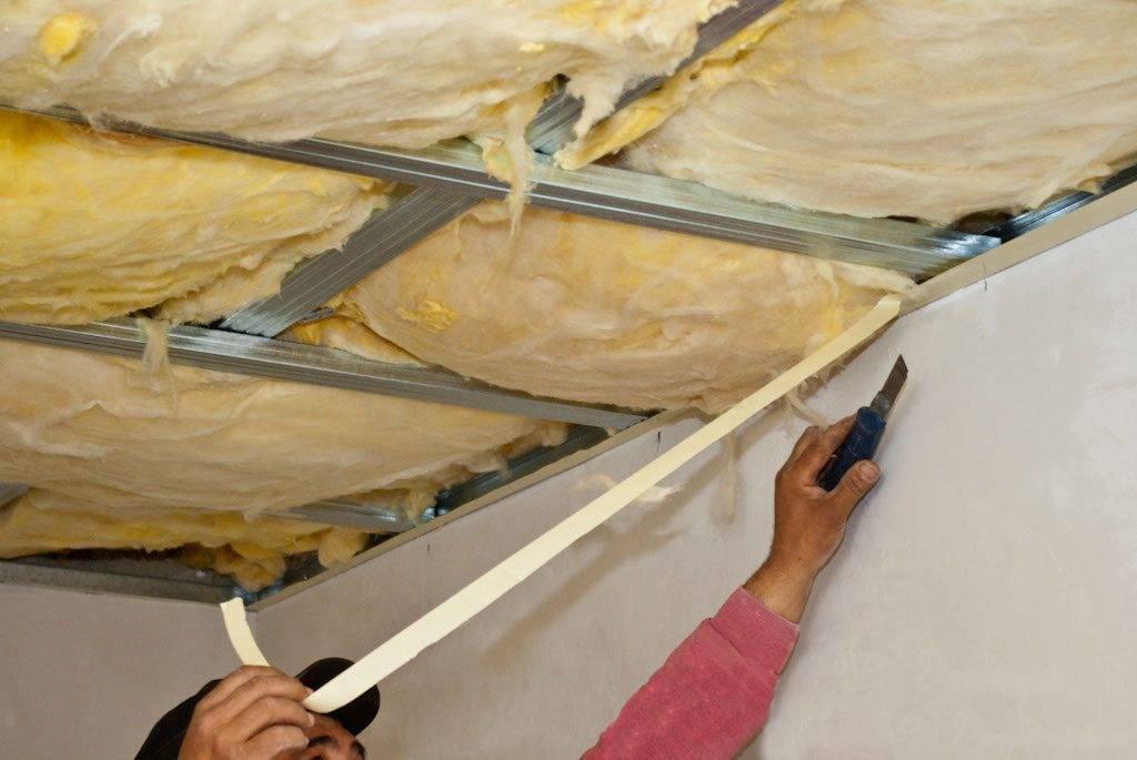 Утепление потолка: как утеплить потолок в деревянном доме и что для этого необходимо