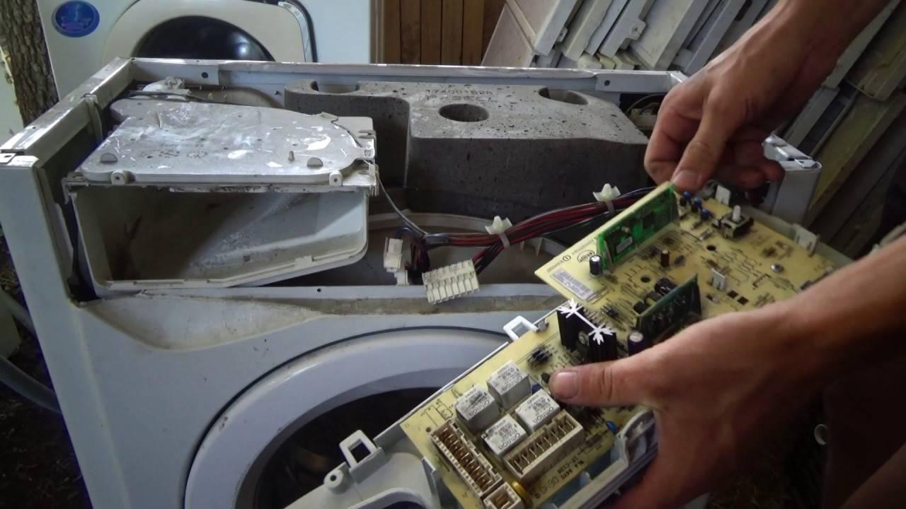 Ремонт блока управления стиральной машины indesit: схема электронной платы стиральной машины. как отремонтировать модуль своими руками?