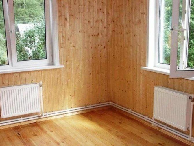 Отопление деревянного дома: варианты, их преимущества и недостатки