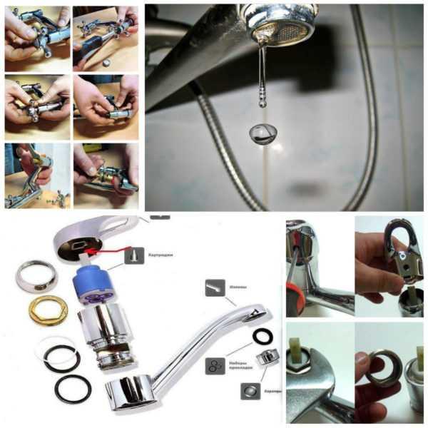 Ремонт смесителя своими руками — как починить краны в ванной