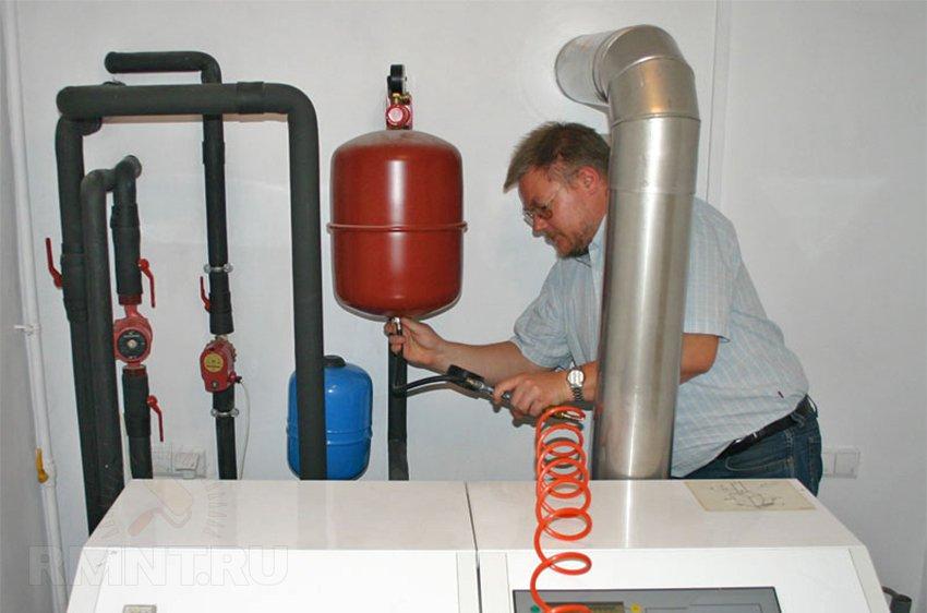 Как происходит завоздушивание системы отопления, и как с этим бороться