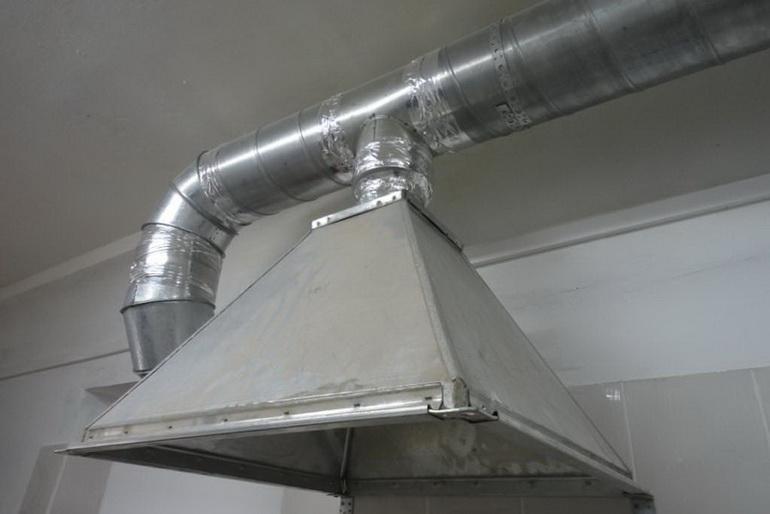 Вытяжной зонт для кухни: устройство вентиляционных конструкций - точка j