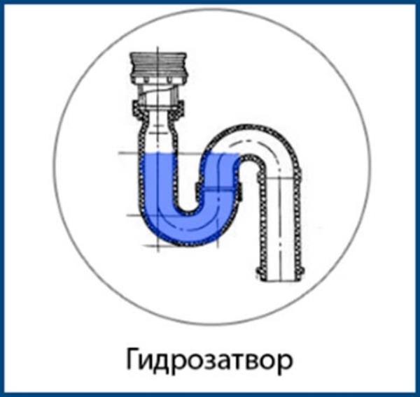 Гидрозатвор для канализации: классификация гидрозатворов и правила его монтажа