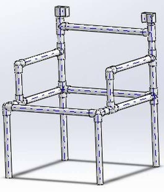 Какую мебель из труб пвх своими руками можно сделать