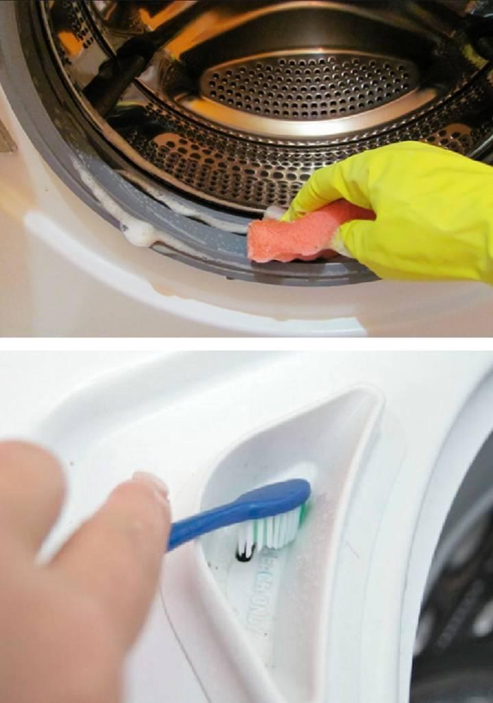Как почистить стиральную машину автомат от грязи в домашних условиях