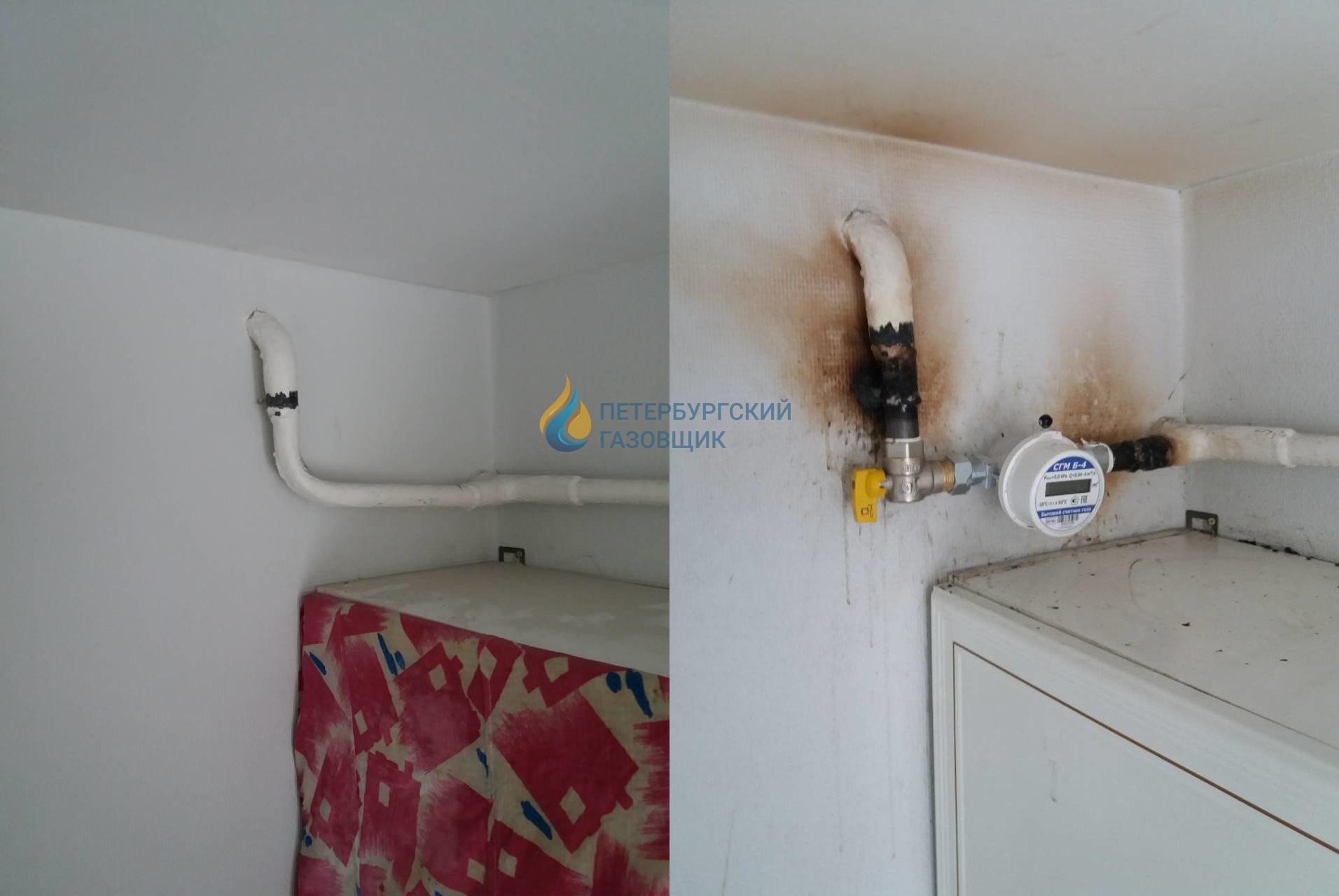 10 идей как скрыть газовую трубу на кухне