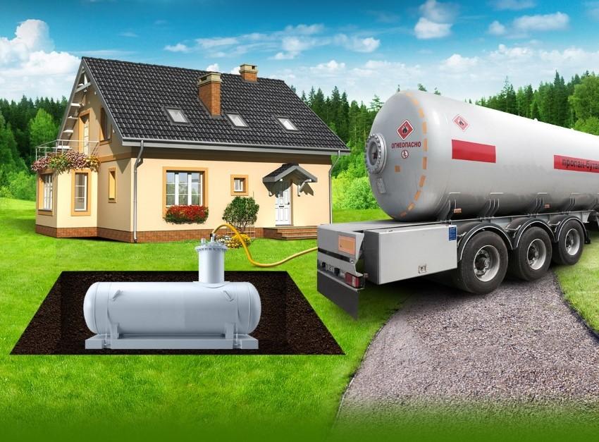 Установка газгольдера под ключ в москве, цены на газгольдер для домов и дач