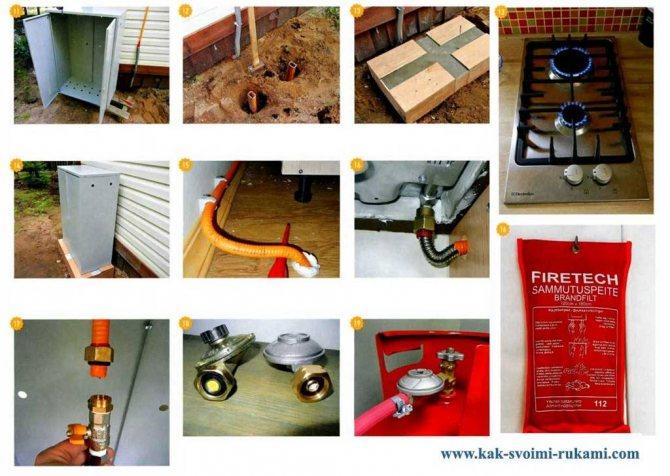Подключаем газовую плиту самостоятельно: порядок производства работ по закону
