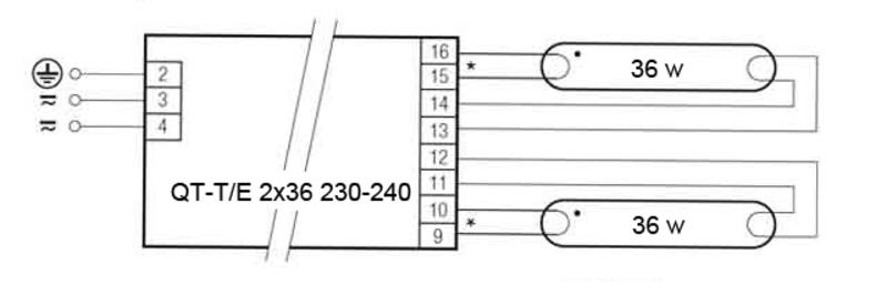Схема подключения люминесцентной лампы (дневного света): полное описание как подключить c дросселем и стартером, соединить последовательно или параллельно, с эпра