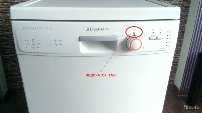 Ошибки посудомоечных машин electrolux - посудомоечные машины
