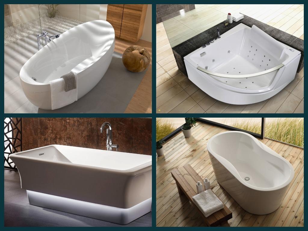 Какую ванну лучше выбрать: виды, преимущества и недостатки | ремонт и дизайн ванной комнаты