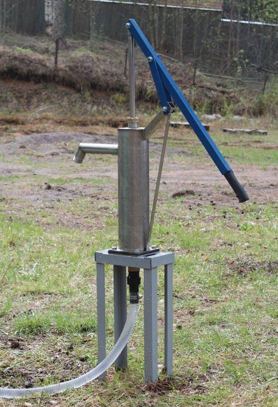 Ручной насос для воды своими руками - советы по изготовлению простейших конструкций - водоснабжение и канализация