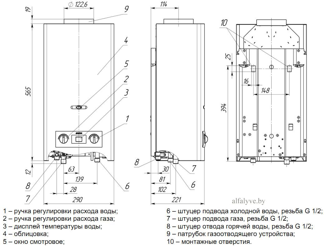 10 советов, как выбрать газовую колонку (газовый водонагреватель) для квартиры | строительный блог вити петрова