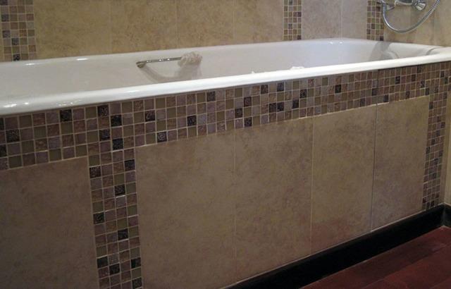 Экран под ванну своими руками +фото