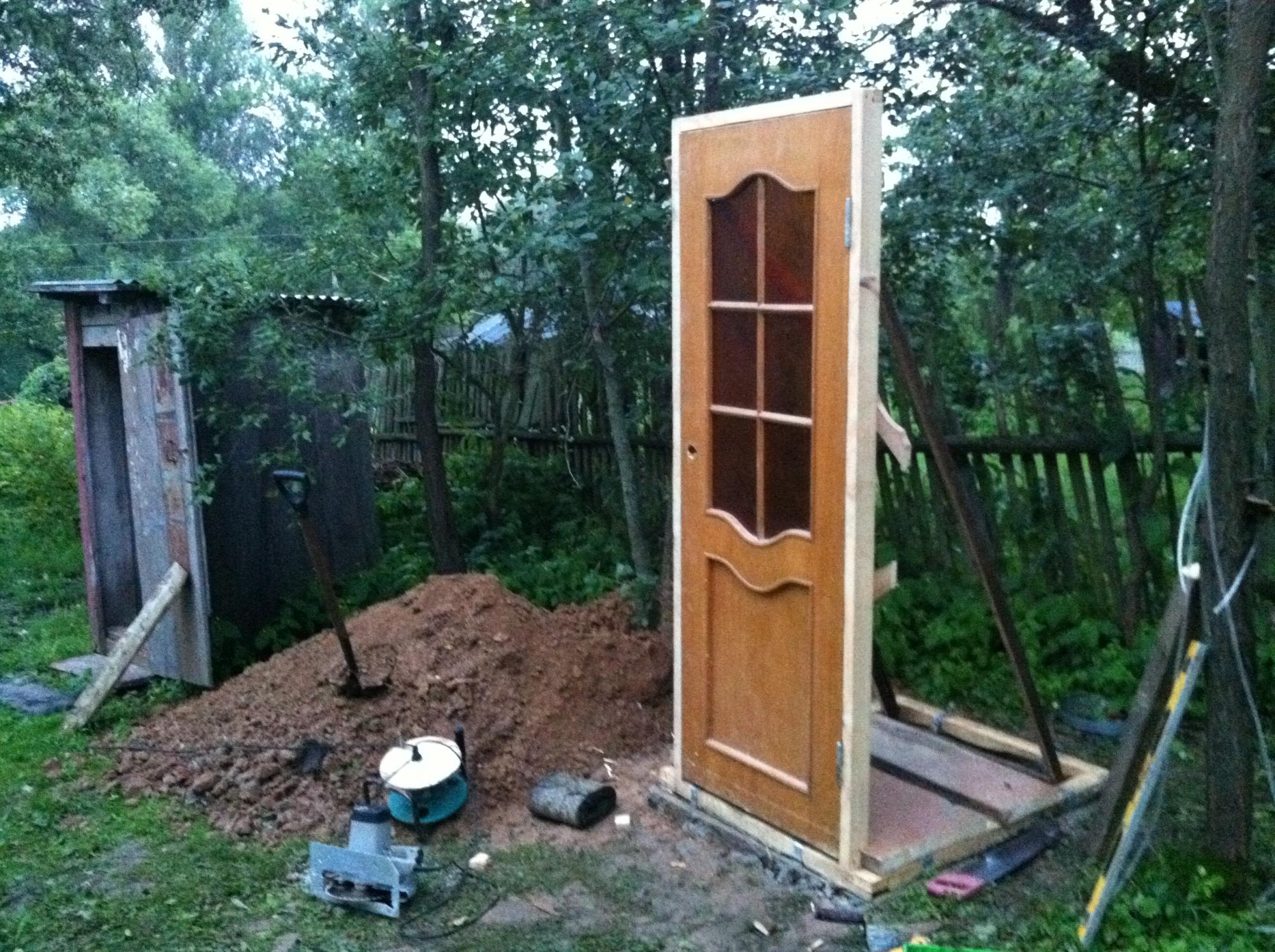 Дачный туалет своими руками пошагово - инструкция!