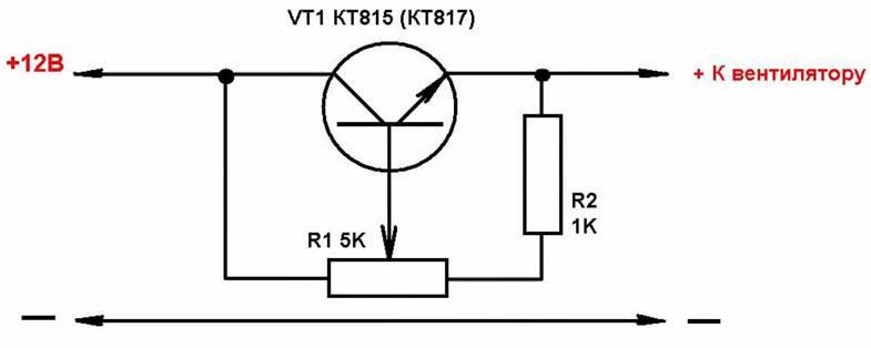 Как уменьшить обороты вентилятора: снижение мощности и скорости вращения кулера