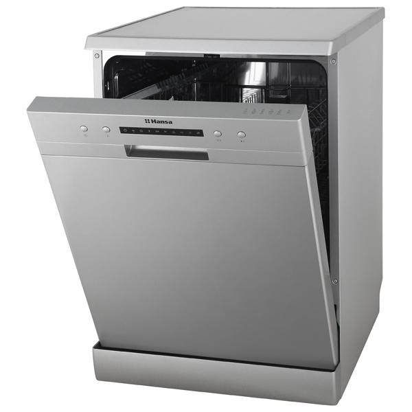 Узкая посудомоечная машина hansa zwm 416 wh с защитой от протечек aquastop