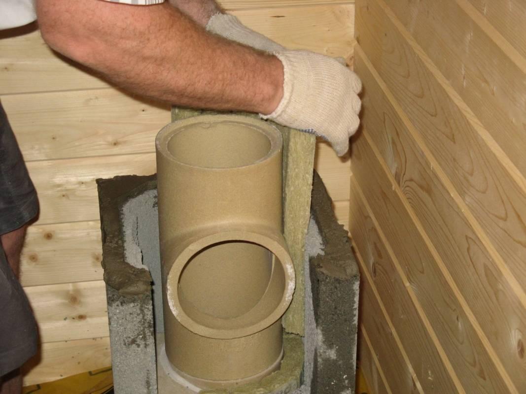 Чем хорош керамический дымоход + разбор основных правил его монтажа