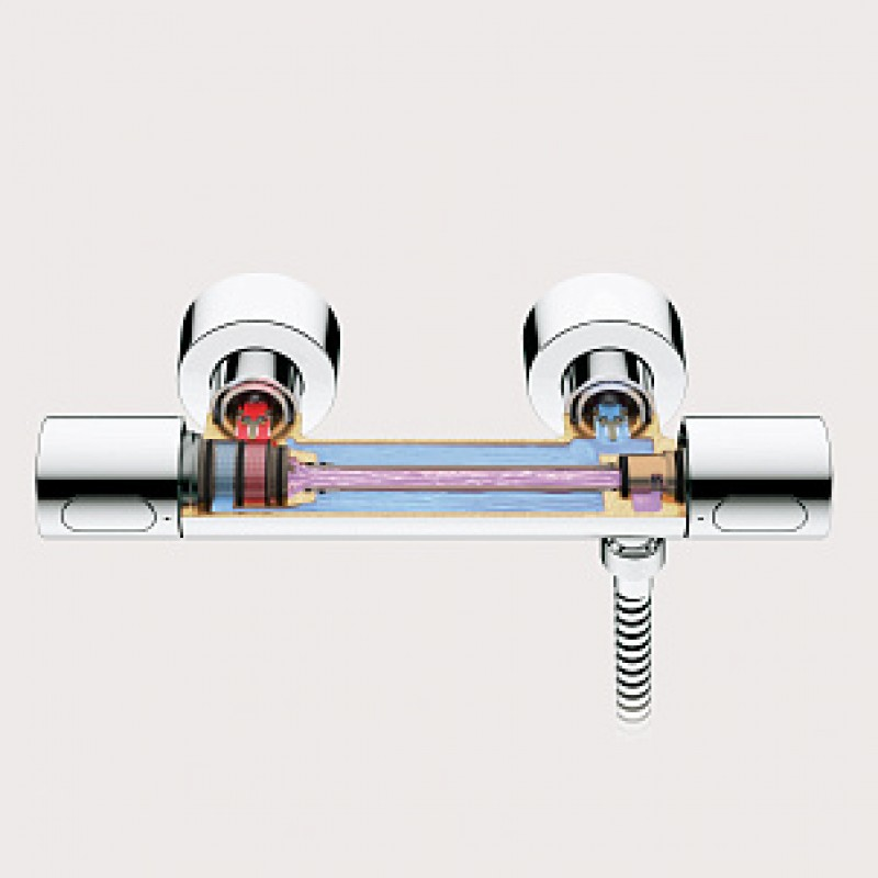Термостатические смесители — разновидности, устройство и подключение
