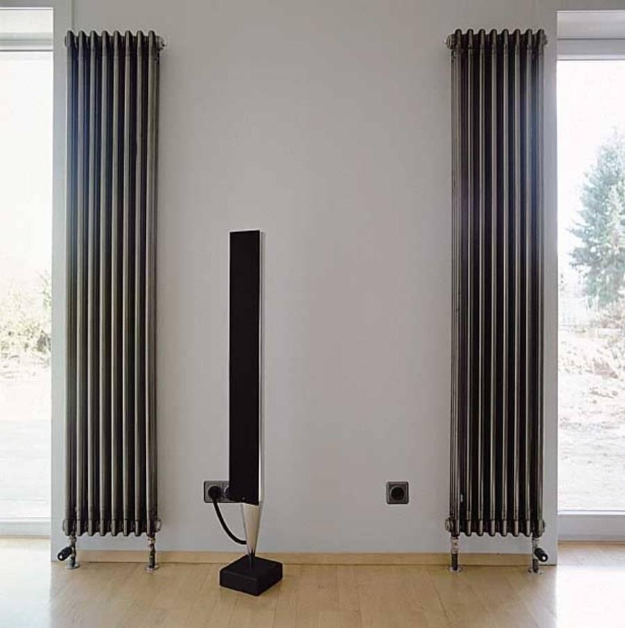 Вертикальные радиаторы отопления — виды + преимущества и недостатки + обзор марок