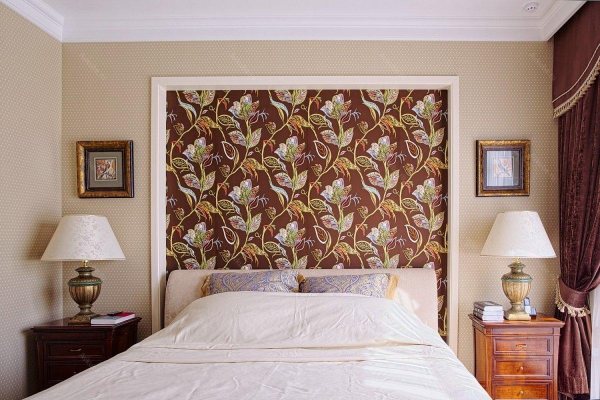 Комбинированные обои в спальню дизайн 2020 (111 фото): идеи в интерьере комнаты с обоями двух видов, правила сочетания цветов и текстур