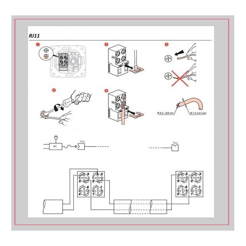 Как подключить телефонную розетку: схема и этапы установки - точка j