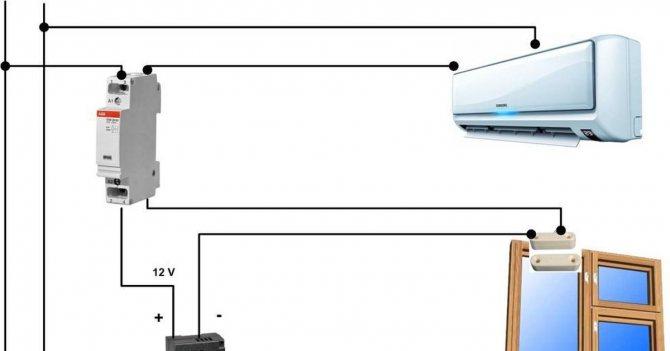 Как самому подключить кондиционер к электросети