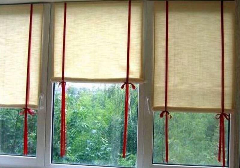 Рулонные шторы своими руками - 111 фото особенностей выбора полотна