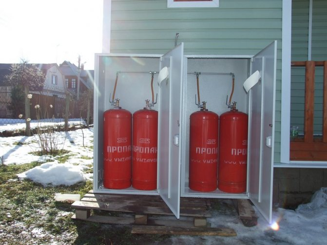 Расход газа при отоплении дома с использованием газовых баллонов: плюсы и минусы