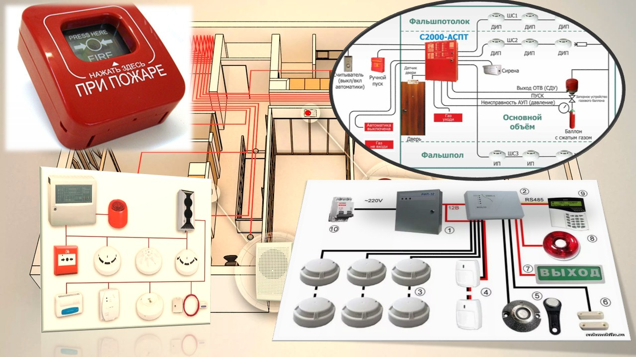 Установка охранно-пожарной сигнализации: монтаж опс для дома или квартиры с датчиком утечки газа, схема подключения, виды систем, неисправности