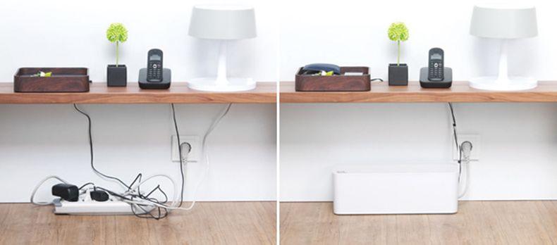Как спрятать провода от телевизора на стене: 12 идей