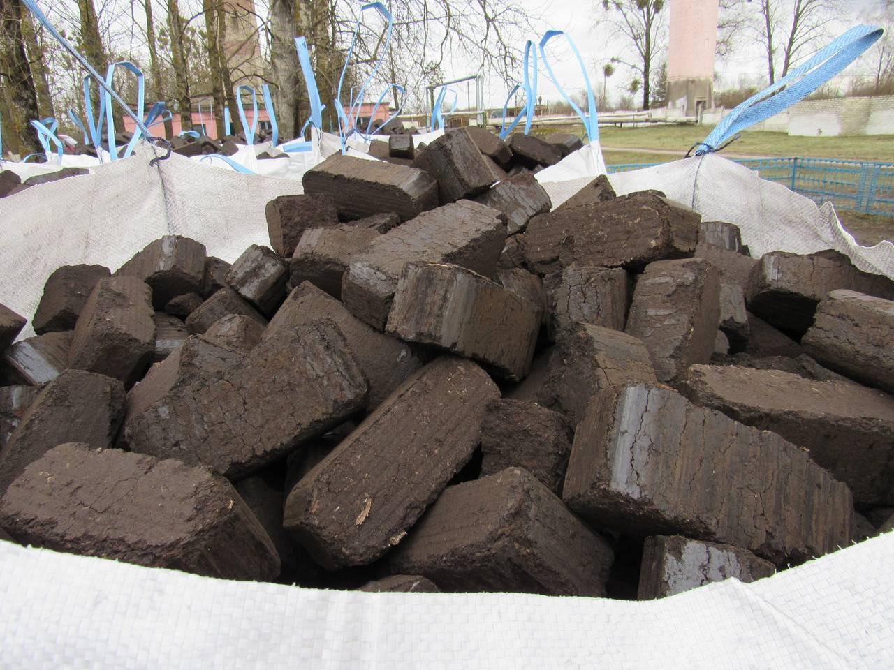 Брикеты торфяные топливные: древесные прессованные и их производство для отопления