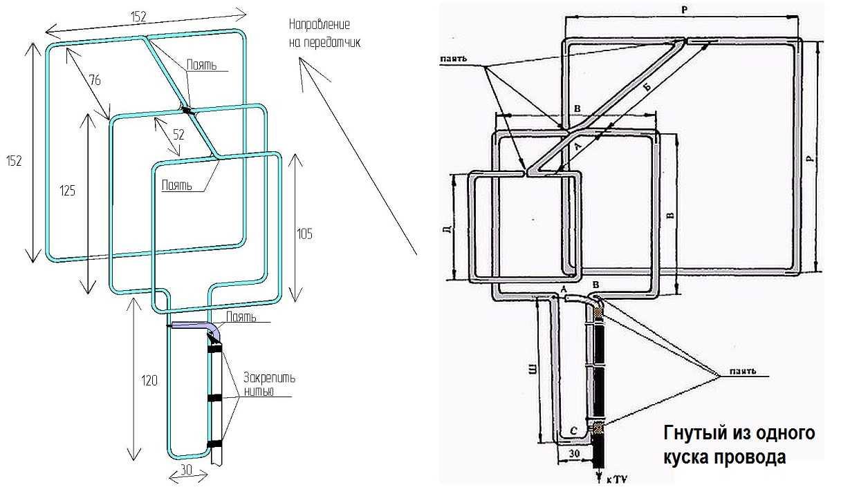 Как сделать антенну: самодельные простые варианты и тонкая настройка для цифрового телевидения (инструкция + видео)