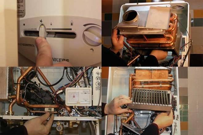 Как избавиться от накипи в газовой колонке. чистка теплообменника газовой колонки от накипи   все о ремонте