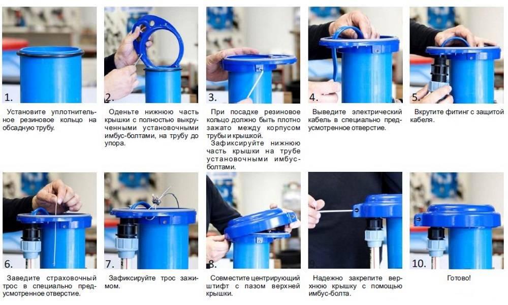 Оголовок для скважины своими руками: устройство, монтаж, установка - точка j